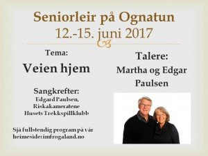 Seniorleir 2017