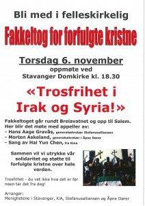Fakkeltog Stavanger