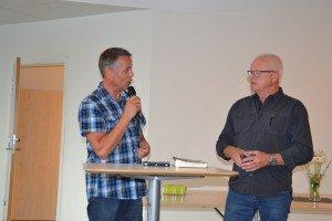 Arne Skagen og Torgeir Lauvås på inspirasjonssamling på Ognatun.
