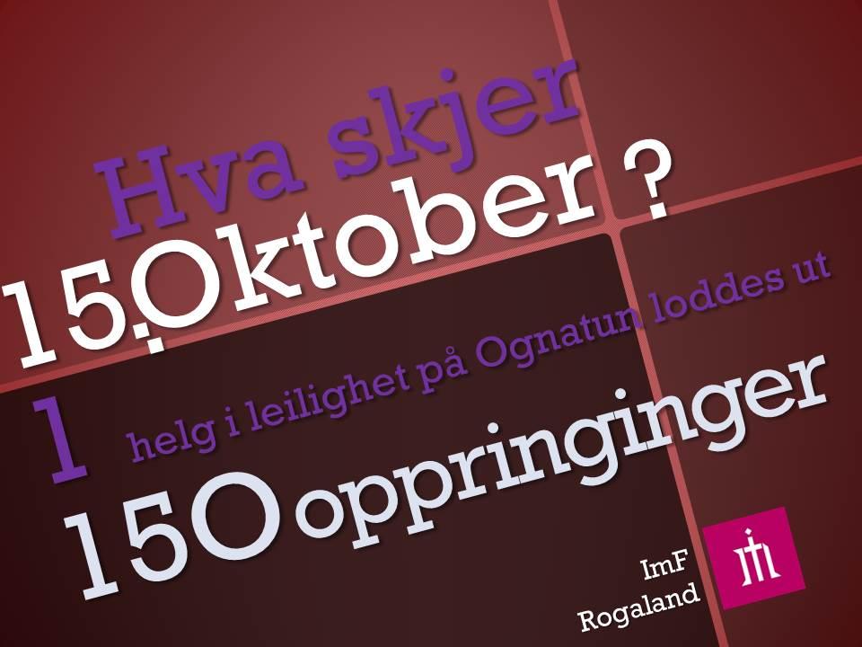 15 Oktober tirsdag