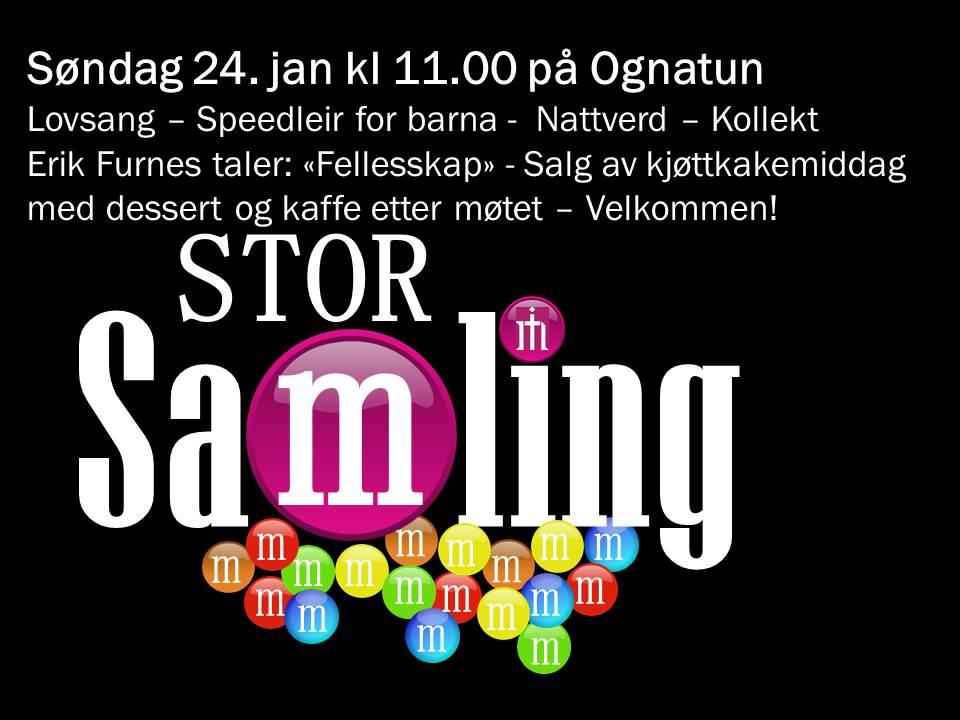 Storsamling 24. jan