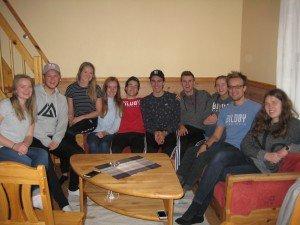 Gruppe frå Bildøy Bibelskule på turne i Rogaland
